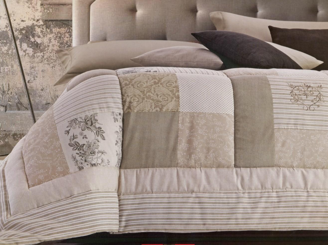 Trapunte letto e plaid martinovanzo - Piumini per letto singolo ...